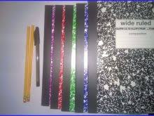 Notebook With Multi Colored Pages Admirable 5 Pack Multi Colored