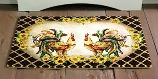 round rooster kitchen rugs rooster rugs for the kitchen or rooster kitchen area rugs rooster print