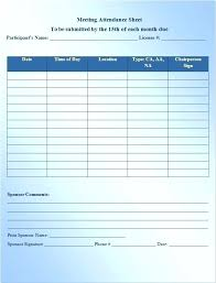 Employee Attendance Sheet In Excel For Office Meeting Attendance List Template Sheet Word Format In Excel Official