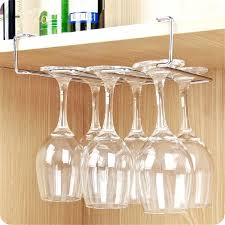 wine glass rack under cabinet stainless steel wine glass holder under cabinet wall wine rack storage