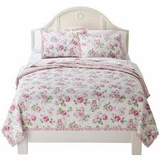 simply shabby chic bedroom furniture. Simply Shabby Chic Pretty Pink Garden Rose Twin Bed Floral Quilt - Walmart.com Bedroom Furniture