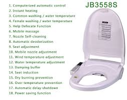 heated toilet seat cover. toilet seat cover jb3558s sanitary strips heated o