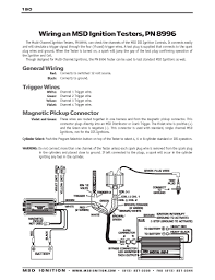 msd ignition wiring diagrams com msd ignition tester to msd 6 series to points