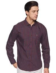 Indigo Nation Size Chart Indigo Nation Street Mens Checkered Slim Fit Casual Shirt