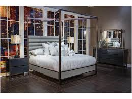 Midnight Cal.King Canopy Bed