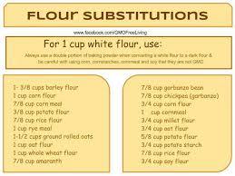 Flour Conversion Chart
