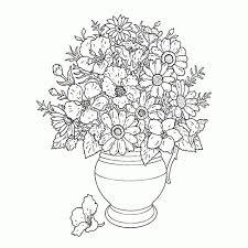 Beste Kleurplaten Bloemen Voor Volwassenen Kleurplaat 2019