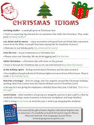 Christmas Day Essay Christmas Idioms To Get You In The Holiday Spirit American