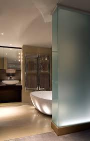 Bathroom lighting solutions Modern Bathroom Wall Integrating Bathroom Lighting Into Hard Surfaces Brilliant Lighting Bathroom Lighting Brilliant Lighting