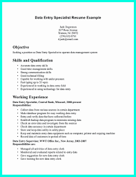 Sample Data Entry Operator Resume Data Entry Resume Sample New Luxury Collection Data Entry Operator 23