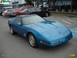 1996 Bright Aqua Metallic Chevrolet Corvette Coupe #33189216 ...