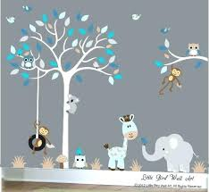 boy nursery wall art baby boy wall decal nursery white tree by boy nursery wall boy  on boy nursery wall art with floral pictures on framed canvas artwork painting marvelous elephant