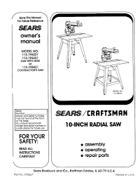 craftsman table saw parts fearsome craftsman 113 196321 owners manual manualzz 791 pixels 94 awesome