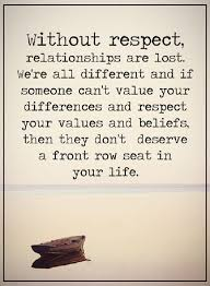Value Of Life Quotes Classy Relationship Quotes Life Thoughts Without Respect Relationships Are
