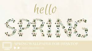 hello spring wallpaper. hello spring - freebie wallpaper for your desktop created by eight pepperberries