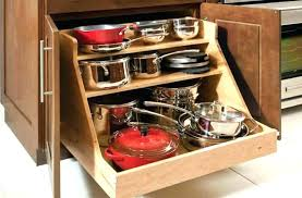 kitchen storage cabinets for pots and pans. Interesting Storage Pan Storage Ideas For Pots And Pans Nice Kitchen Cabinets   Throughout Kitchen Storage Cabinets For Pots And Pans P