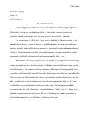 litr essay critical analysis of richard cory and i m  6 pages litr221 essay 3