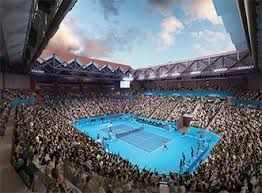 Margaret court arena is a tennis, sports and entertainment venue located in melbourne park as part of the national tennis centre. Margaret Court Arena A Clever Multi Use Makeover