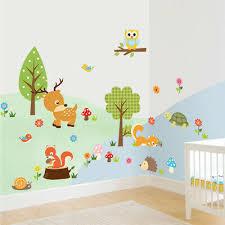 cute cartoon wall stickers baby kids