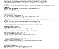Resume Summary Examples For Students Resume Overview Examples Template Profile Objectives For Retail 49