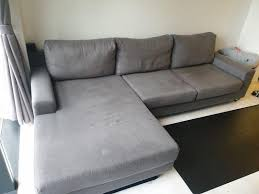 beloved l shape ikea grey sofa set