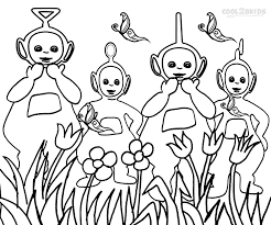 Small Picture New Teletubbies Coloring Page 62 About Remodel Line Drawings with