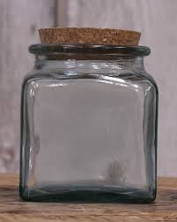 Glass jars with corks Kmart Green Square Glass Jar Red Rooster Trading Company Recycled Glass Jar With Cork Lid