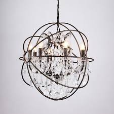 black cage chandelier country vintage black chandelier bedroom crystal chandelier lighting iron cage crystal lo lights