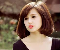 haircut for thin hair and round face