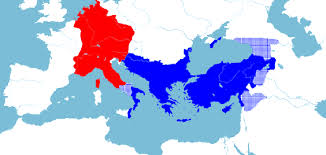 Venn Diagram Of Eastern Church And Western Church Eastern Vs Western Roman Empire Compared World History