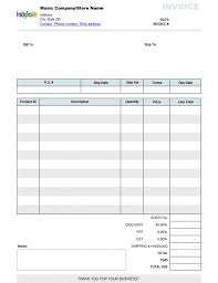 Free Invoice Templates Printable Print Free Invoice Template Theminecraftserver Com Best Resume Blank