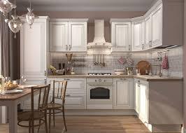 0 beautiful traditional style kitchen furniture set white