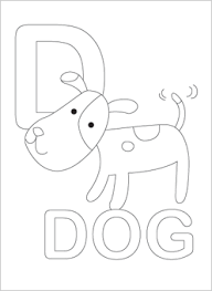 Small Picture Free Coloring Pages With Alphabet Coloring Pages