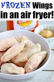 frozen en wings in air fryer