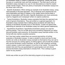 example of illustrative essay cover letter sample of illustrative  illustrative essay examples illustrative essay how to write essays example illustration samples example of illustrative