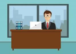 office desk images. businessman sitting in office desk images c