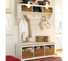 Front Door Bench Coat Rack Entryway Mudroom Inspiration Ideas Coat Closets Diy Built Throughout 50