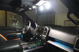 2008 F350 Interior Lights 2015 2017 F 150 Front Interior Vanity Mirror Led Lights