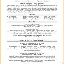 Medical Coder Resume Billing Entry Level Impressive Idea Medical Coding Resume Samples 87