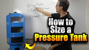 Pressure Tank Drawdown Chart How To Size A Pressure Tank