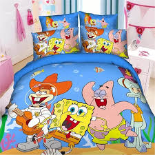 boys twin bed sheets. Wonderful Sheets New 3d Spongebob Boys Twinsingle Size Bedding Set Of Duvet Cover Bed Sheet  Pillow Case 23pcs Linen Setblue For Childrenin Bedding Sets From Home  Intended Boys Twin Bed Sheets B