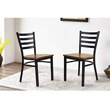 livebest 2 pack patio sling dining chair metal seat stacking chairs patio furniture sets