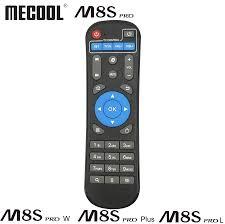 Tivi Box Phụ Kiện Điều Khiển Hồng Ngoại Từ Xa Thay Thế Cho Mecool Android  TV Box M8S Pro W M8S Pro L M8S Pro plus BB2 KM8 Bộ Điều Khiển