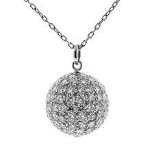 n582 radiant ball 8 80 cts rbc pendant