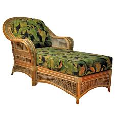 furniture brown wicker chaise lounge chairs with back and woven chaise lounge chair