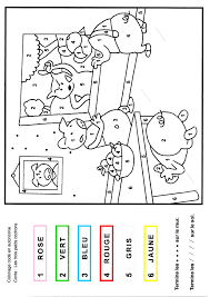 Coloriage Code Loup Maternelle