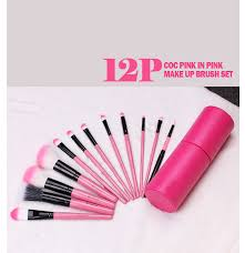 coringco premium makeup brushes 12 pcs collection set