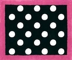 polka dot rugs for nursery black and white polka dot rug fancy area rugs pk red