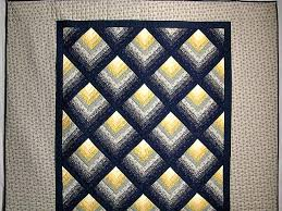 Log Cabin Quilt Patterns Unique Chevron Log Cabin Quilt Gorgeous Ably Made Amish Quilts From