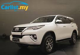 new car launch in malaysia 20162016 AllNew Toyota Fortuner launched in Malaysia from RM186900